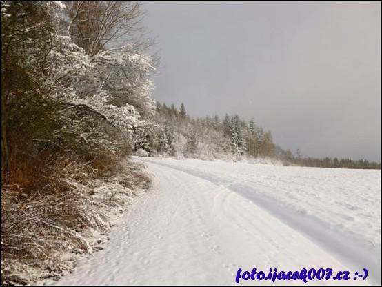 obrázek První sníh v Krasově