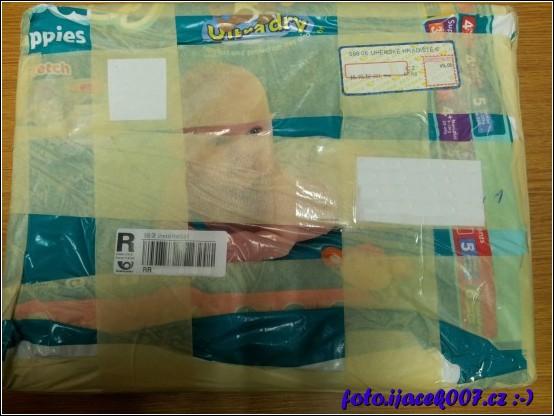 obrázek kreativně zabalený balíček