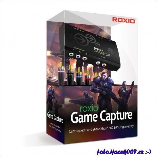 obrázek roxio game capture