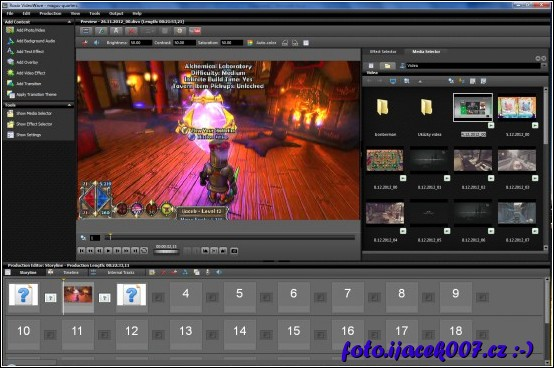 obrázek roxio game capture editor