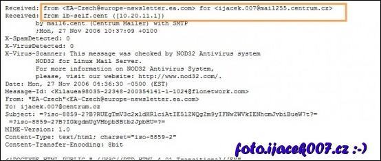 obrázek hlavicka emailu
