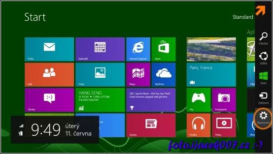 obrázek windows 8 nastavení