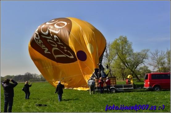 obrázek vypouštění balonu