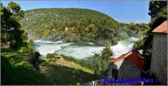 obrázek Kaskádový vodopád