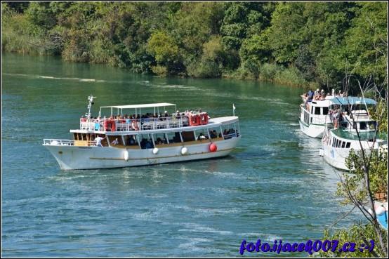 obrázek Loďní doprava chorvatsky park Krka