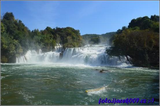 obrázek vodopády
