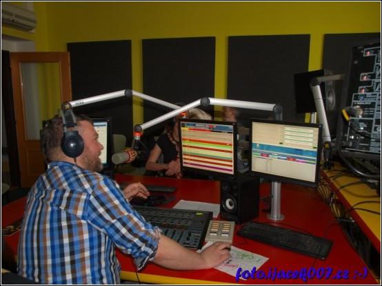 obrázek studio rádia Helax