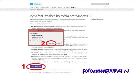obrázek web microsoft stažení instalačního isa