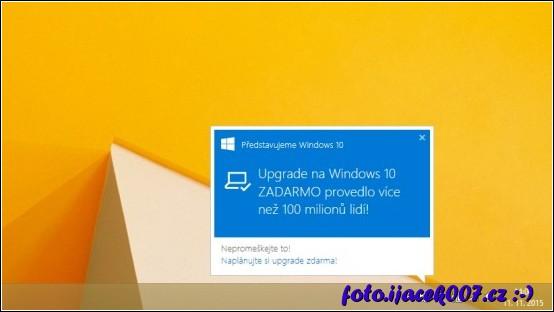 obrázek reklama na Windows 10