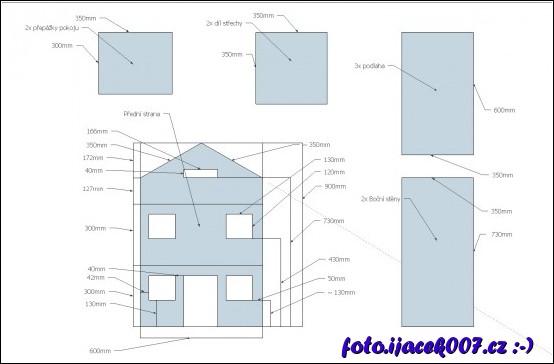 obrázek Plán domečku
