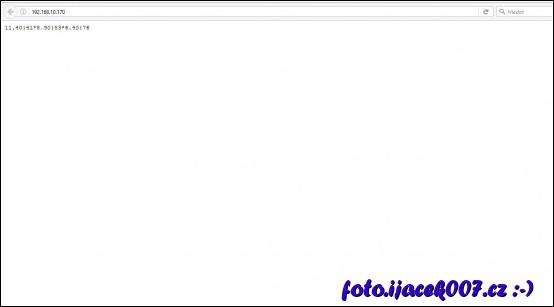 obrázek pohled na webovou stránku modulu