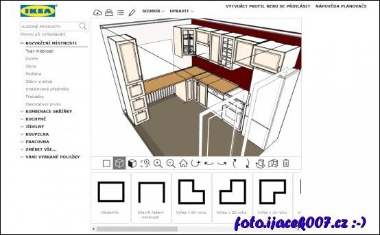 obrázek Plán nové kuchyně