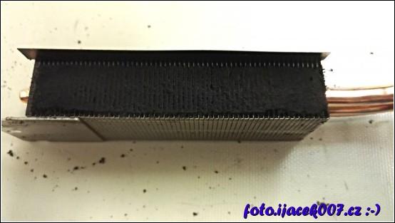 obrázek žebrování chladiče