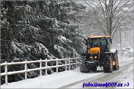 obrázek odklízení sněhu