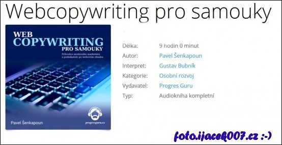 obrázek Kniha Webcopywriting pro samouky