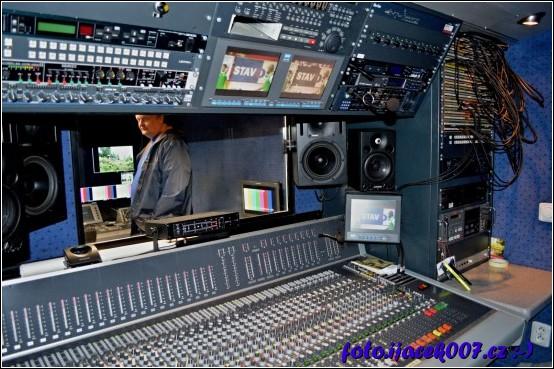 obrázek pracoviště zvukaře