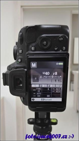obrázek nastavení fotoaparátu