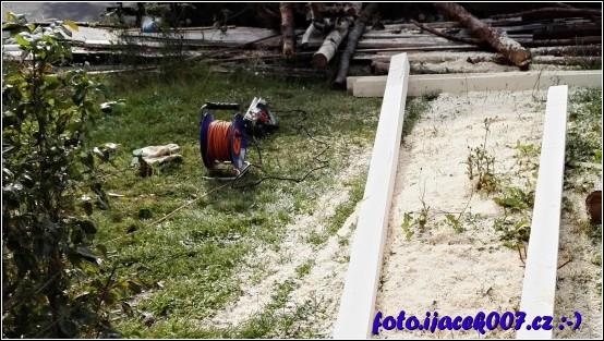 obrázek Hoblování trámů