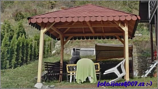 obrázek Střecha hotova