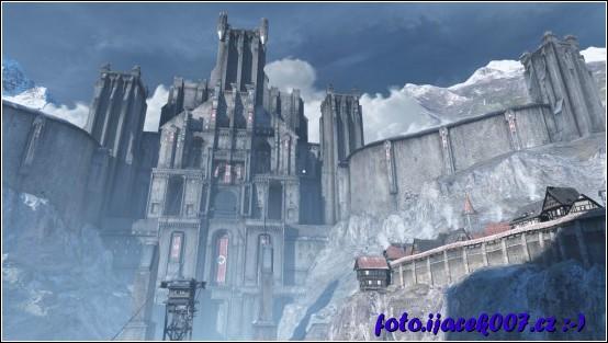 obrázek pohled na hrad Wolfenstein