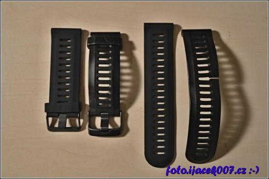 obrázek silikonové řemínky pro fenix 3