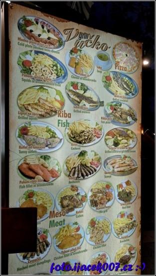 obrázek jídelní lístek
