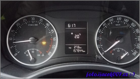obrázek Škoda Octavia II kontolka žhavení