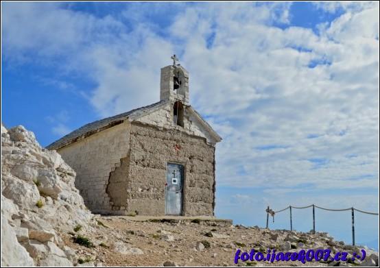 obrázek kostelík na sv.Jure