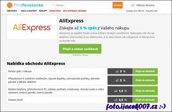 obrázek prodejce aliexpres
