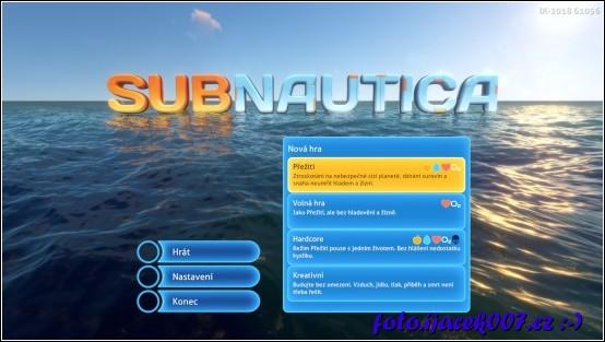 obrázek Herní menu nová hra