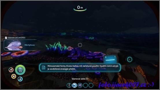 obrázek Skenování okolních organizmu