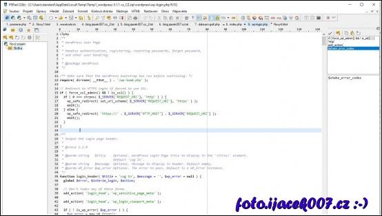 obrázek PSPad monitor schránky