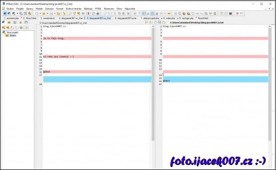 obrázek PSPad Porovnání souboru