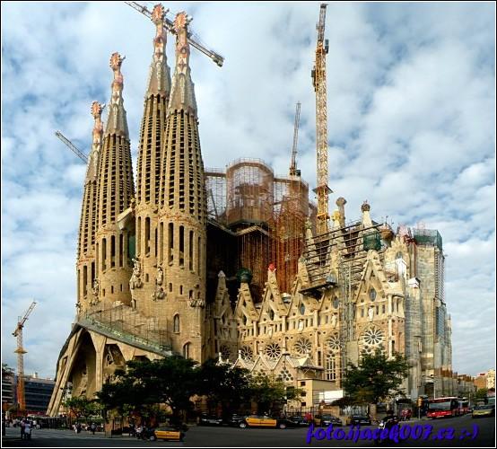 obrázek Katedrále Sagrada Familia