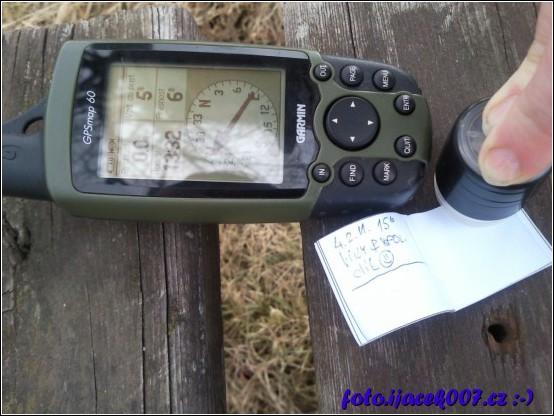 obrázek geocaching poprve v roce 2011